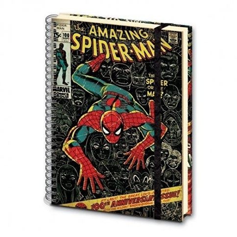 Pyramid International A4 Defter SR71617 Marvel Amazing Spider-man Renkli